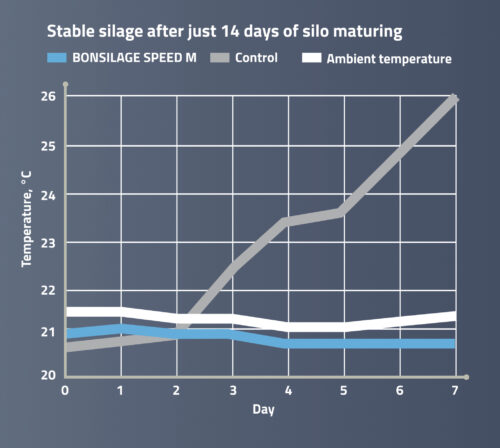 Stable silages after just 14 days