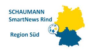 Deutschlandkarte - SCHAUMANN SmartNews Rind Süd