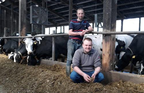 Volker (li.) und Timo Carstens